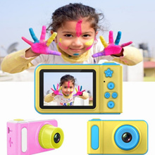 Children#39s camera baby cartoon mini toy can take pictures and video