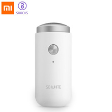 Xiaomi Mijia SO WHITE ED1 Mini Electric Shaver For Men Portable MenS Razors Head Dry Wet Shaving