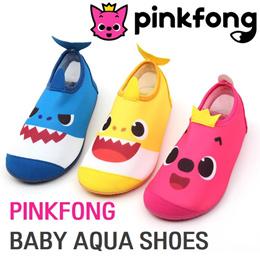 [PINKFONG] Baby Shark Aqua Shoes/Character Aqua Shoes/Beach/Pool/Swimming/Babyshark/Kids/Toddler