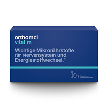 Orthomol Vital M Liquid + Tablet Type 7 Day Men's