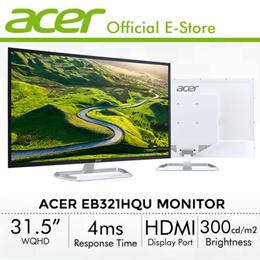 Acer EB321HQU 31.5 Inch (16:9) Wide QHD Monitor