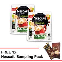 NESCAFE Latte Hazelnut buy 2 FREE 1 Nescafe sampling pack