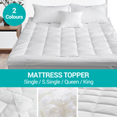 *2020 LATEST* Mattress Topper / Protector / Extra Comfort / Beddings / Bed Frame / Bed Room /Blanket