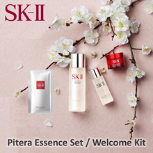 SK-II Pitera Set - For your everyday skincare needs. Essence 75ml + Treatment Mask + Clear Lotion 30ml