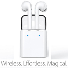 【HOT Arrivals】TWS True Wireless Bluetooth Headset Mini Bluetooth 4.2 Wireless Earpiece Earbuds In-Ear Earphone For iphone 6 6S 7 Plus ipod ipad mini air airpods