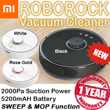 Xiaomi Roborock Vacuum Cleaner Gen 2★SWEEP AN MOP 5200 mAh Battery★ 3 COLOR AVAILABLE