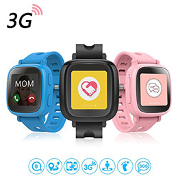 Oaxis Kids Smart Watch Phone - Hybrid Wrist Phone (GPS Tracking 3G Phone Call)