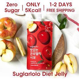 ★10th RESTOCK★ [INTAKE] Sugarlolo Konjac Jelly - 10 packs / Diet / Zero Sugar / Low Calorie / Kfood