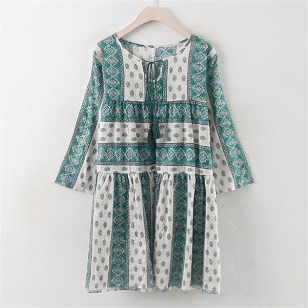 子供ウーマンセミアンティークワンピースPG1707ビックサイズnew ロング/マキシワンピース/ワンピース/韓国ファッション