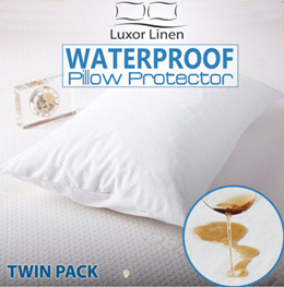 Waterproof Pillow Bedsheet / Waterproof Mattress Protector / Single Bed Sheet Protective Cover