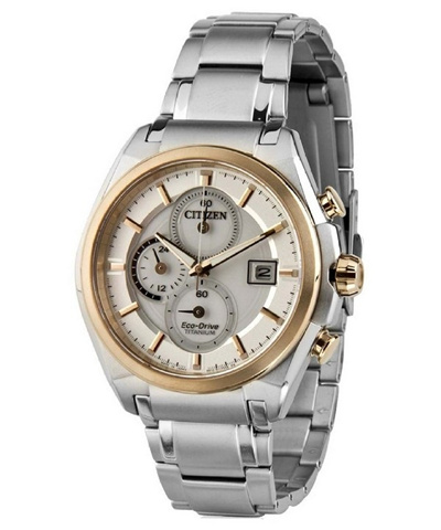 dcba80050 Qoo10 - Citizen Eco-Drive Chronograph Super Titanium CA0356-55A Mens ...