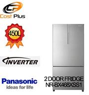 PANASONIC NR-BX468XSS1 2 DOOR FRIDGE 450L INVERTER VEGERATOR Ag CLEAN **1 YEAR PANASONIC WARRANTY**