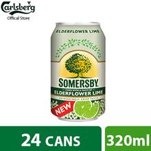 Somersby ElderFlower Cider Can 320ml ( Pack of 24 )