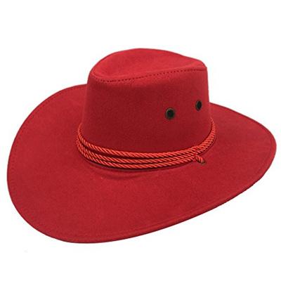 c12ad8c25d53e Qoo10 - Sandy Ting Mens Outback Faux Felt Wide Brim Western Cowboy ...