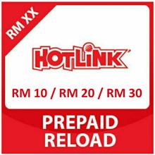 HOTLINK Prepaid RM10 / RM20 / RM30