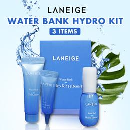 Laneige Water Bank Hydro Kit (3 Items)