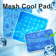 New Concept Cooling Soft Mesh Mat Pad Pillow/Ice Mesh Cool Pad/Pet cool pad/Car cooling Seat Cushion