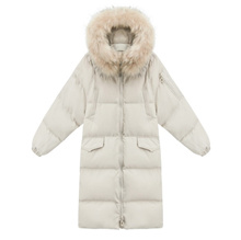 SP down cotton down jacket winter new pattern harajuku middle and long paragraph bread dress ladies