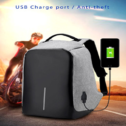 Anti-theft Bag | Laptop Backpack With USB Charge Port | Light weight | Outdoor | Waterproof
