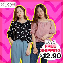 [Buy 2 Free Shipping] TOKICHOI - New Arrival Tops Collection - Spring is around the corner~