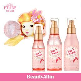 Etude House - Silk Scarf Double Care Hair Mask (1-Step 5ml + 2-Step 15ml) / Silk Scarf Repair Hair Essence 60ml / Silk Scarf Moist Hair Mist 120ml / Silk Scarf Hologram Hair Serum 120ml