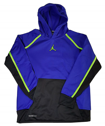 f41851294b9a Qoo10 - Nike Air Jordan Boys Jumpman Victory Therma-fit Pullover ...