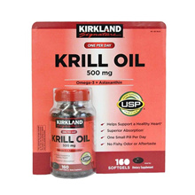 ★ STILL HEATTEM ★ [Kirkland] Signature krill oil 500mg 160 tablets