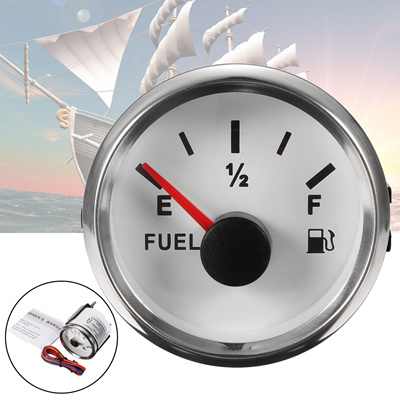 Qoo10 - Boat Fuel Tank Gauge Marine Oil Tank Level Indicator 12/24V