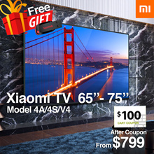 OFFICIAL RETAILER Smart android MI tv 58 - 75 inch 4K 1 Year Warranty