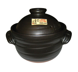 Rice pot Daikoku Selion (with middle lid) 6 Go炊