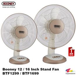 Booney 12   16 Inch Table Fan - BTF1299   BTF1699 (1 Year Warranty) 85dd1144a3e4