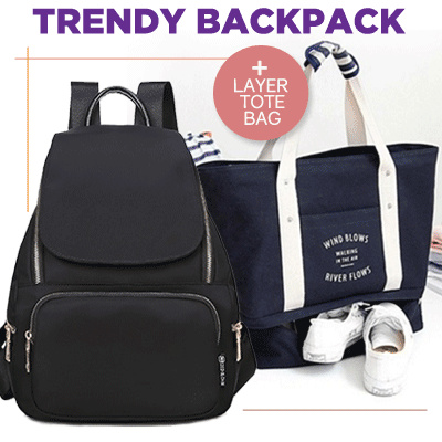 1+1 BUNDLING! HOT ITEM!* LAYER TOTE BAG!! TRAVEL CABIN TOTE BAG!SEPARATED SPACE TRAVEL TOTE BAG Deals for only Rp139.000 instead of Rp139.000