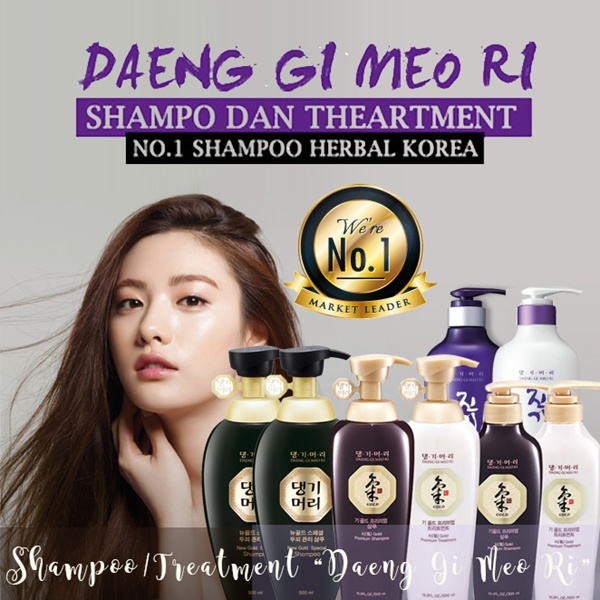 [DAENG GI MEO RI] Shampoo atau conditioner Ki Gold 500ml/Ki Gold 300ml/ Vitalizing 500ml Deals for only Rp138.000 instead of Rp138.000