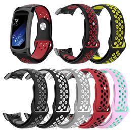 Samsung Gear Fit 2 Fit2 Pro SMR360 SM R350 Watch Band Sports Silicone Strap Bracelet