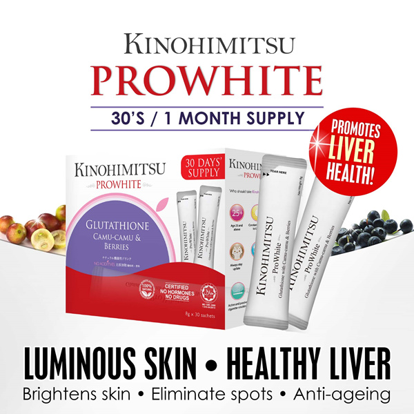 Kinohimitsu Prowhite 30s Deals for only S$69.9 instead of S$69.9