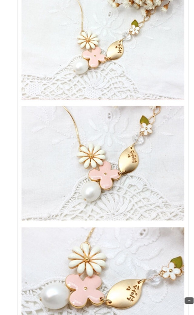 [US$21 69][made in Korea ]Korea necklace - Nuance necklace best selling  item in Korea (hIgh detail handmade)