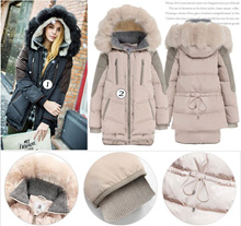 2017 New winter jacket down jacket winter coat women clothing jacket coat gift
