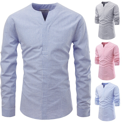 Qoo10 Mens Striped Shirts Men S Apparel