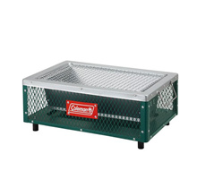 Coleman Gono Cool Stage Table Top Grill for 3-4 people Green / Red