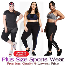SALE♥PLUS SIZE SPORTS GYM WEAR♥YOGA LEGGINGS♥SPORTS BRA♥ SHORTS♥TOP♥ RUNNING♥XL-XXXXL♥EXPS DELY