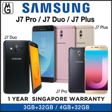 SAMSUNG J7 PRO 2017 / J7 DUO / J7 PLUS /1yr Warrany. SAMSUNG Official warranty