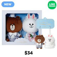 [LINE FRIENDS] LINE FRIENDS WEDDING PAIR SERIES