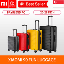 💖LOCAL SELLER💖[Xiaomi 90Fun Luggage] A super light 20inch/24inch/28inch Luggage - 1stshop sg