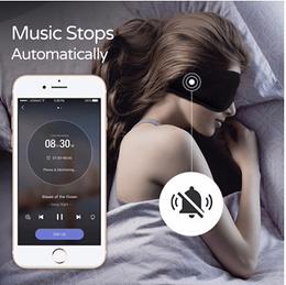 Sleepace享睡睡眠智能音乐眼罩丝绸舒适睡觉透气亲肤不压耳耳机