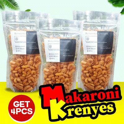 GET 4 PCS MAKARONI KRENYES FELCIA_SHOP SEMUA RASA Deals for only Rp19.900 instead of Rp19.900