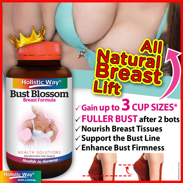 2FOR $49.90POPULAR DemandUPSIZE Your CupHolistic Way BUST BlossomProduct of NZ Deals for only S$88 instead of S$88