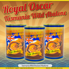 [BEST QUALITY]【JUMBO ABALONE】 ♛Tasmania Australia Wild Catch!  ♛ 2-3Pcs/213g Brine/Braised