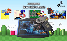 BB REPLAYZ CONSOLE (BB PIE V2) // 21 EMULATORS / 9600 GAMES / 4 PLAYERS / 2 JOYSTICK 2 CONTROLLERS