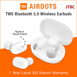 [LOCAL SET] Xiaomi Mijia AirDots Bluetooth 5.0 TWS Wireless Earbuds Earphones Youth Edition