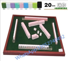 Singapore Tourism Travel 20mm mini travel Mahjong Mahjong small travel mahjong mahjong table folding